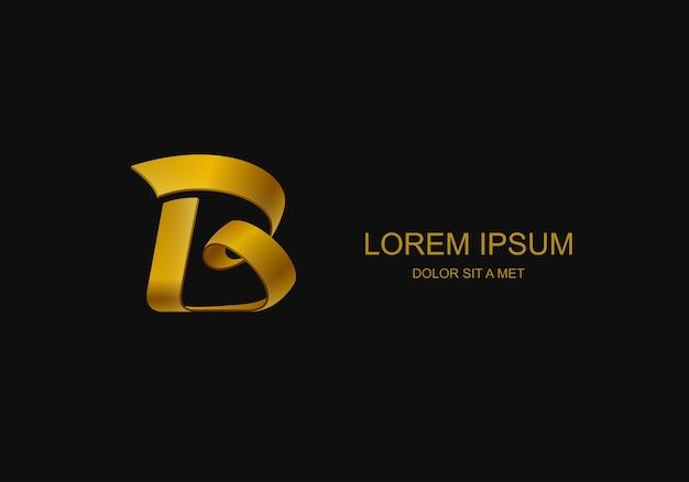 Logo in form des buchstabens