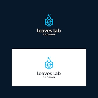 Logo inspiration verlässt das labor