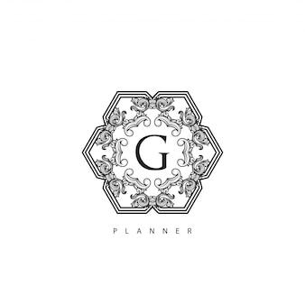 Logo luxury royal brand