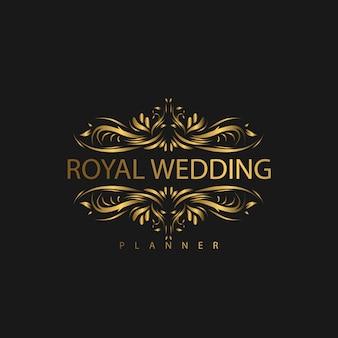Logo luxus ornament