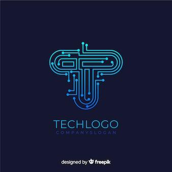 Logo mit farbverlaufstechnologie