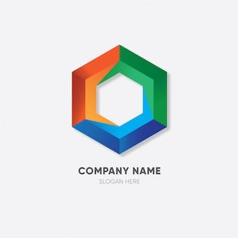 Logo modernes geschäft
