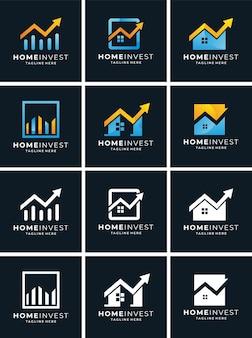 Logo setzen home investieren