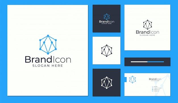 Logo- und visitenkartenentwurf