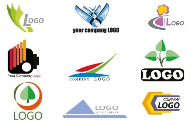 Logo verschiedene bilder firmenlogo