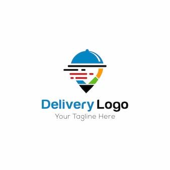 Logo vorlage für lieferung