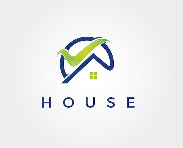 Logo-vorlage immobilien, wohnung, eigentumswohnung, haus, vermietung, geschäft. marke, branding, logo, unternehmen, unternehmen, identität. sauberes, modernes und elegantes design