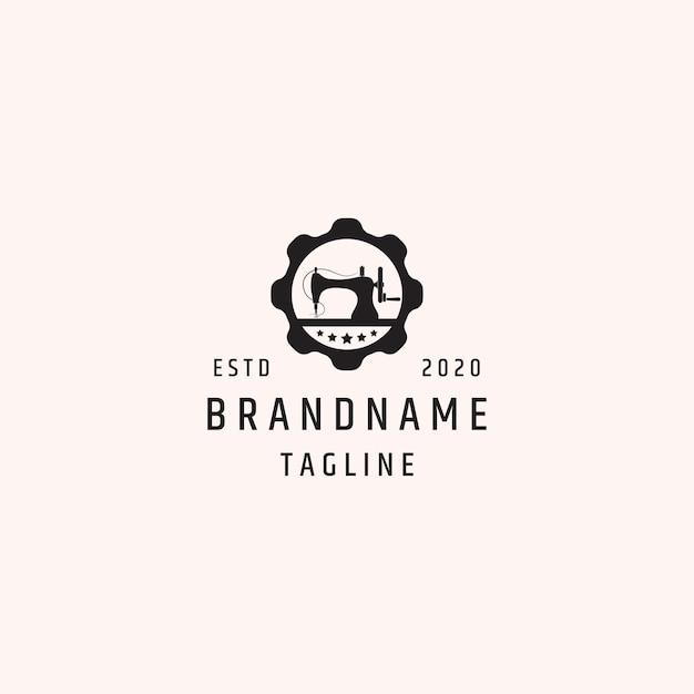 Logo-vorlage nähen