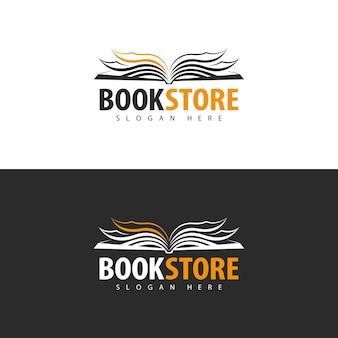 Logodesign der buchhandlung
