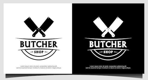 Logodesign des steakhauses