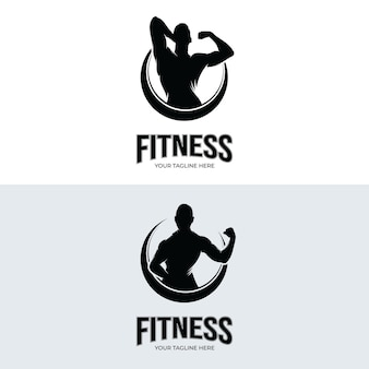 Logodesign für fitnessstudios und fitness-studios