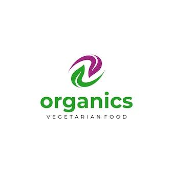 Logodesign für veganes oder vegetarisches essen