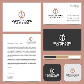 Logokoch und visitenkarte