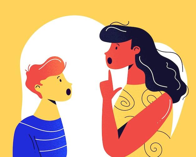 Logopäde und ihre kleine kundin diskutieren über eine logopädische behandlungssitzung.