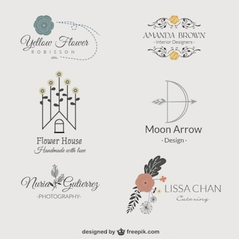 Logos floral pack
