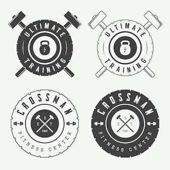 Logos für das fitnessstudio