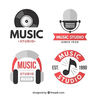 Logos für musik-themen