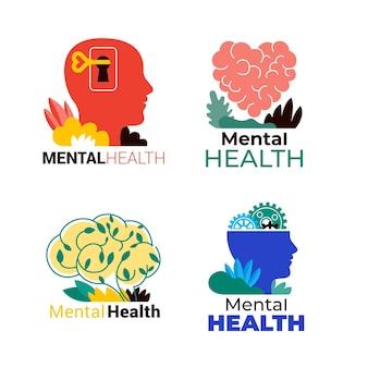 Logos für psychische gesundheit