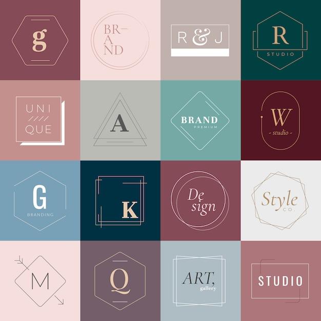 Logos und abzeichen