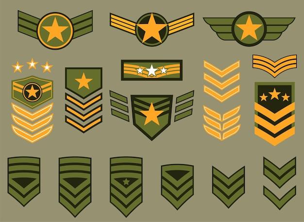Logos von militärgruppen
