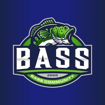 Logovorlage für bassfischen