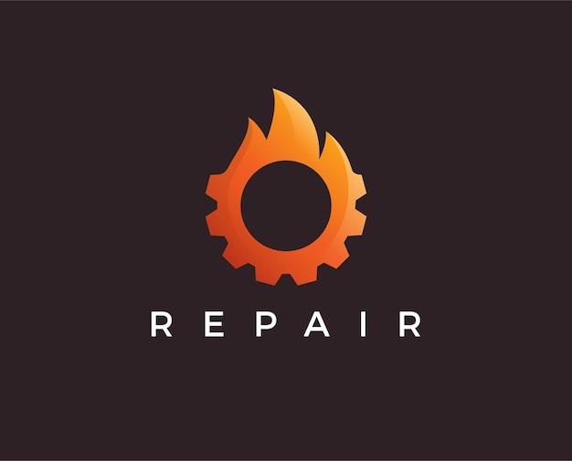 Logovorlage für minimale feuerausrüstung