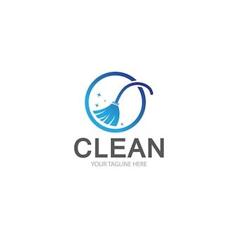 Logovorlage reinigen cleaning