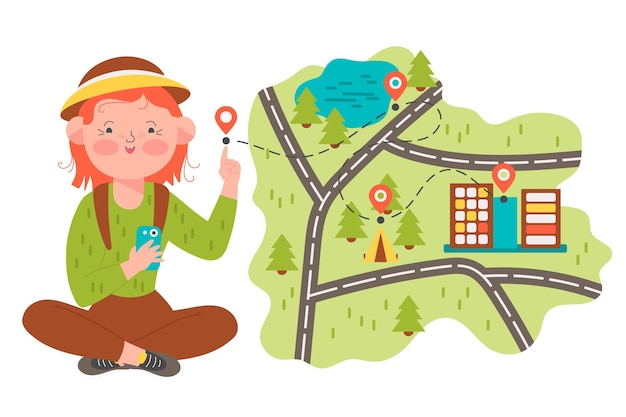 Lokales tourismuskonzept dargestellt