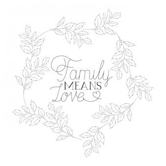 Lokalisierte ikone des glücklichen familientagesaufklebers