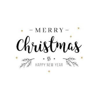Lokalisierter hintergrund der grußtextbeschriftung der frohen weihnachten
