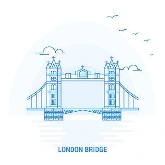 London bridge blue landmark