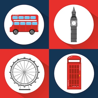 London-england-toruismusreise-marksteinsymbol
