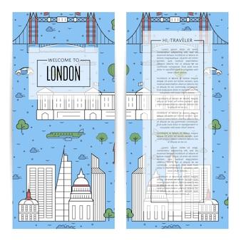 London-reisende flieger stellten in linearen stil ein
