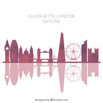 London skyline hintergrund