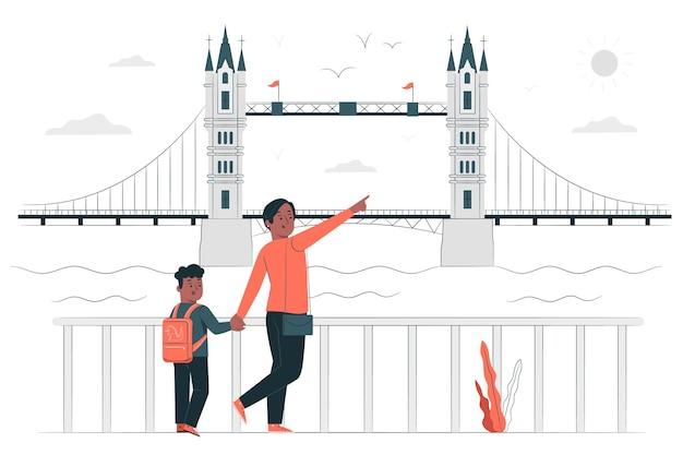 Londoner konzeptillustration