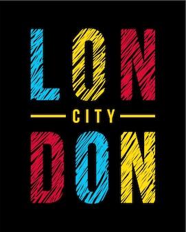 Londoner schriftzug