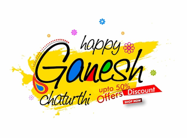 Lord ganesha ganesh festival illustration von lord ganpati hintergrund für ganesh chaturthi