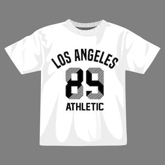 Los angeles vektor-t-shirt-design