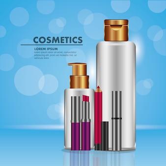 Lotion creme eyeliner lippenstift mascara kosmetik
