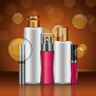 Lotion creme mascara parfüm glanz kosmetik
