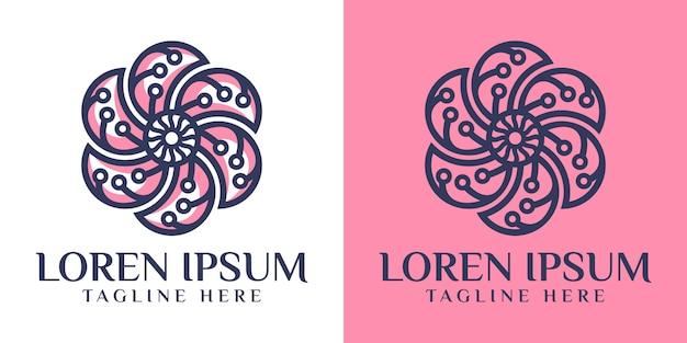 Lotus tech logo design