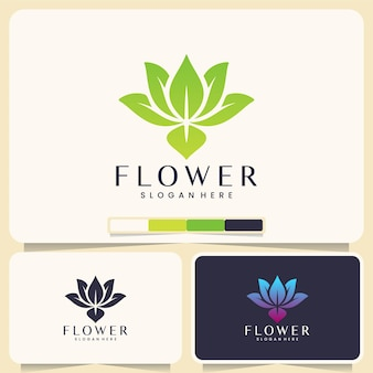 Lotusblume, logo-design-inspiration