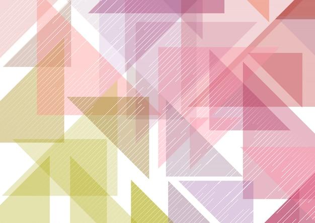 Low poly abstrakten hintergrund