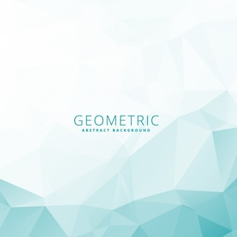 Low-poly-geometrische schablone