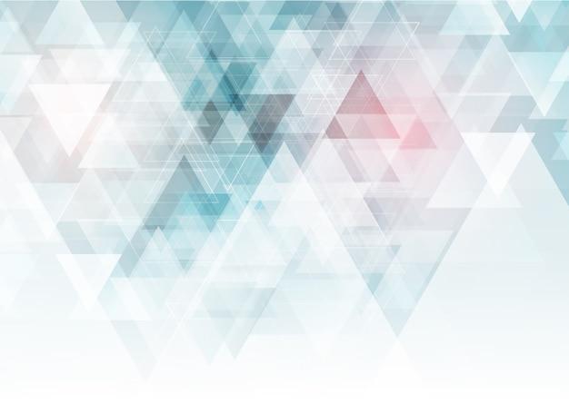 Low poly geometrischer hintergrund