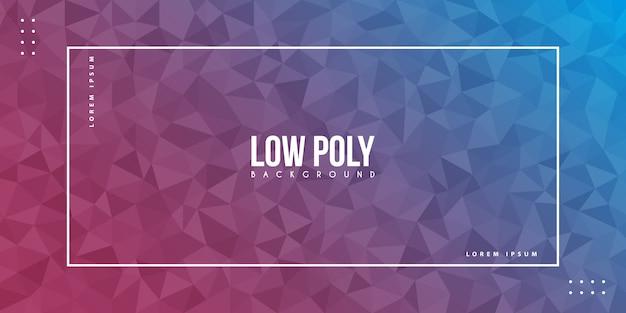 Low-poly-hintergrund