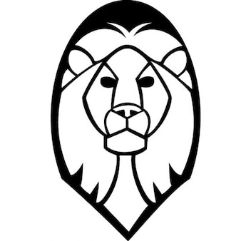Löwenkopf clip art