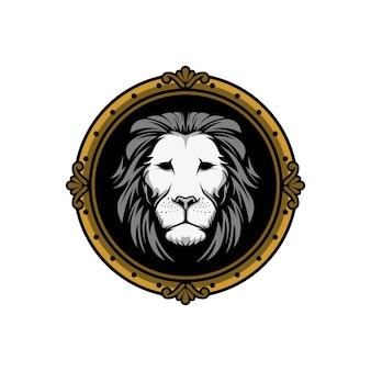 Löwenkopf retro