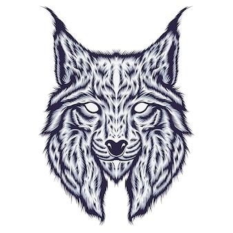 Luchs-illustration