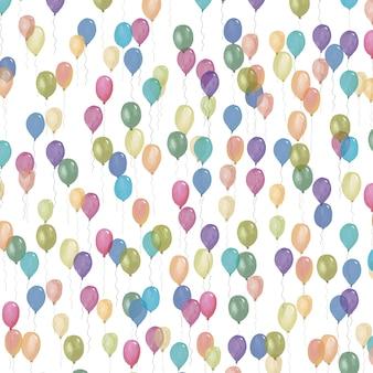 Luftballons muster design